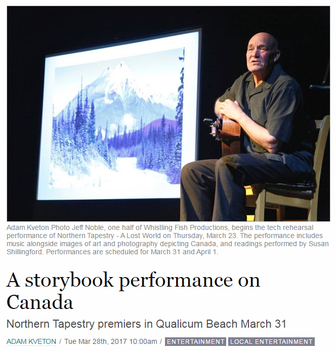 Northern Tapestry - Parksville Qualicum Beach News