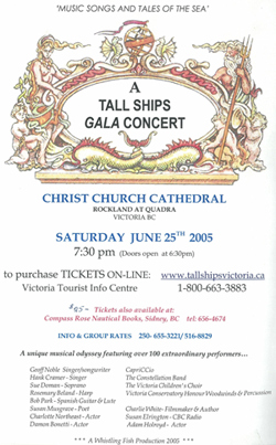 Tall Ships Gala Concert - Christ Church Cathedral - Victoria, BC, Canada